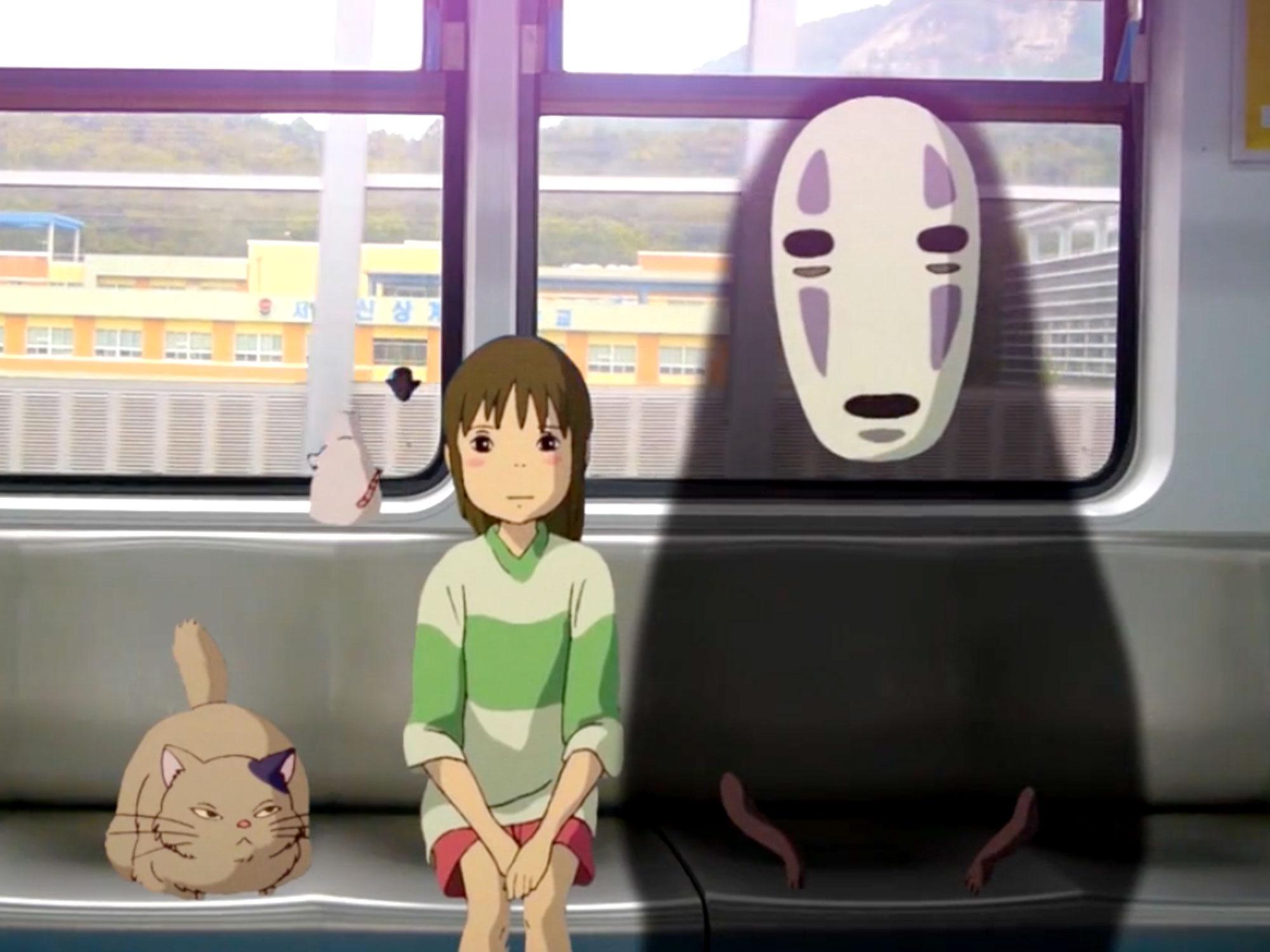 Studio Ghibli in real life