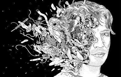 Gareth Edwards illustrated portrait by Laurene Boglio