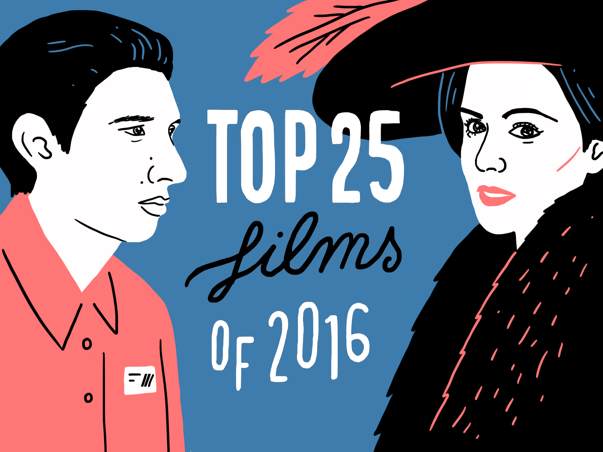 The 25 best films of 2016