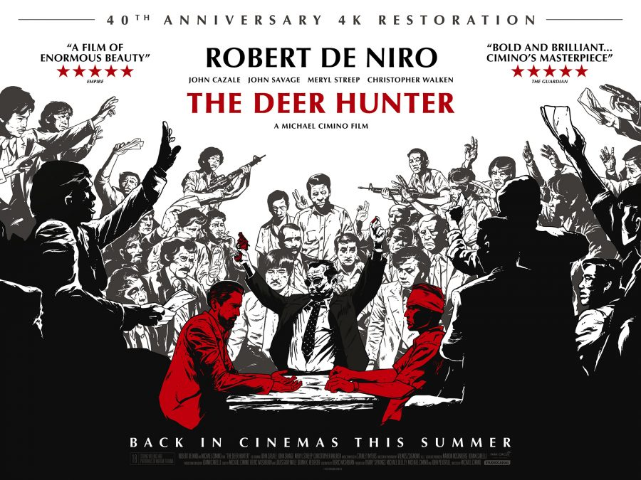 watch the brand new restoration trailer for the deer hunter