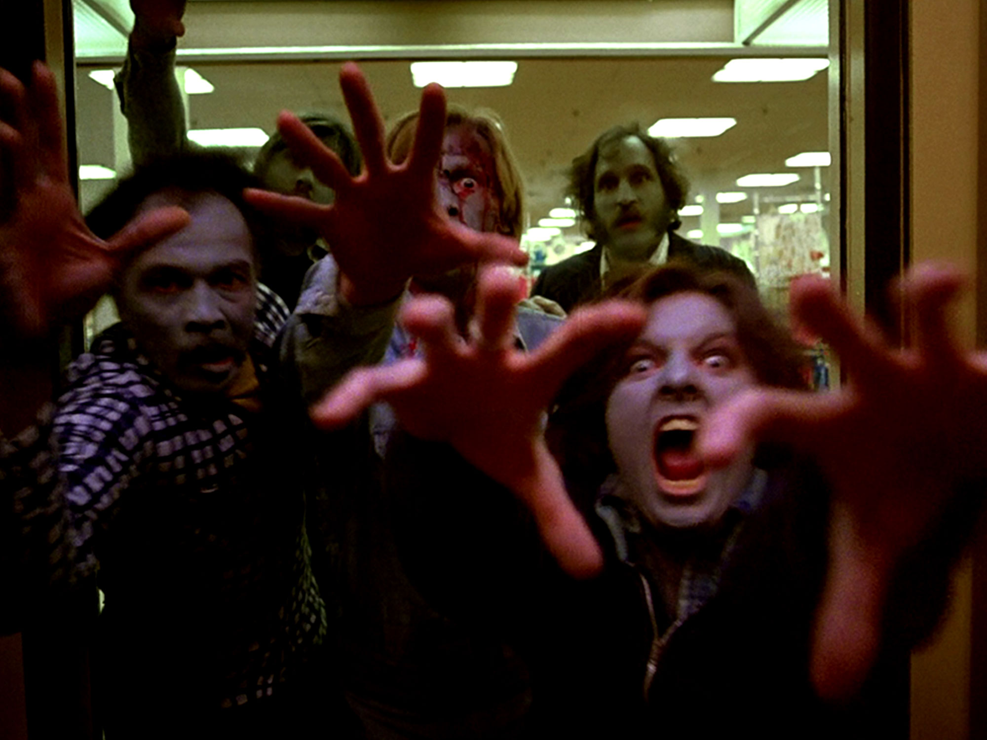 Dawn of the Dead had an alternate ending that's even bleaker than the original