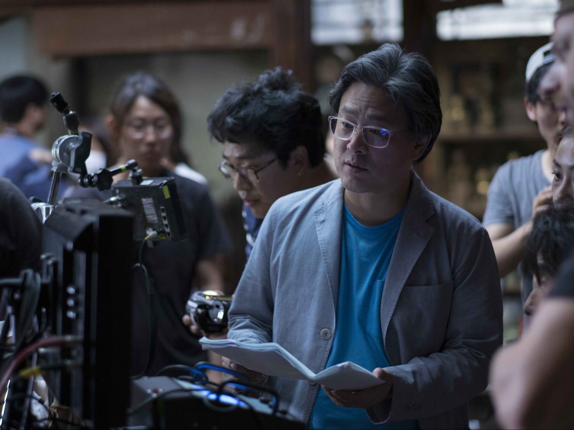 Park Chan-wook's new Western comes together at Amazon