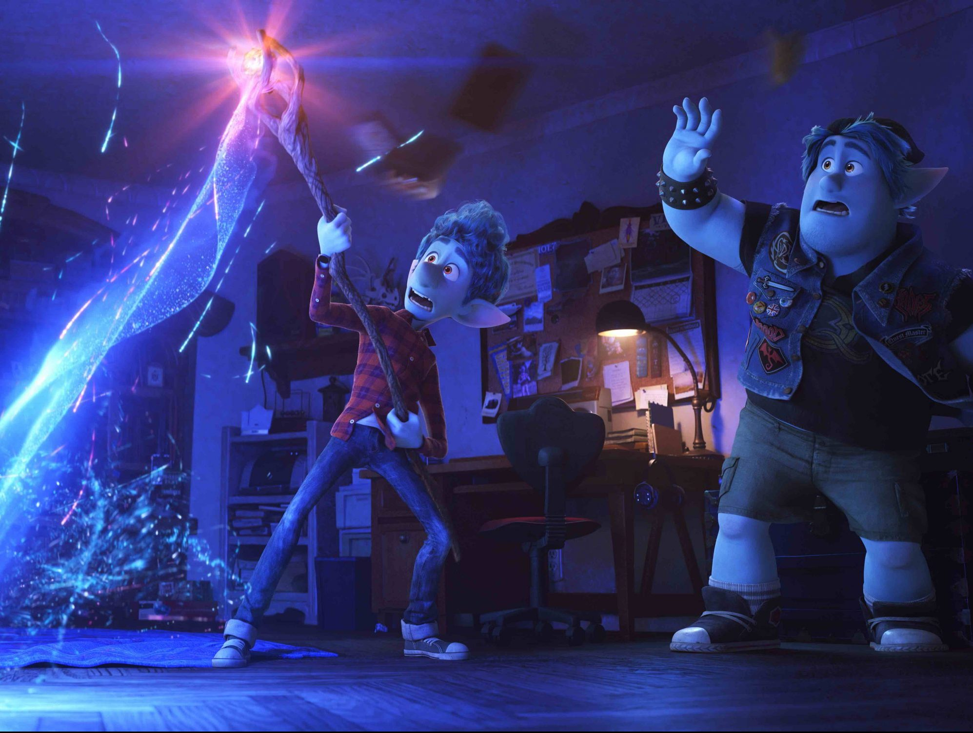 A pair of elves turn their dead dad into pants in the trailer for Pixar's Onward