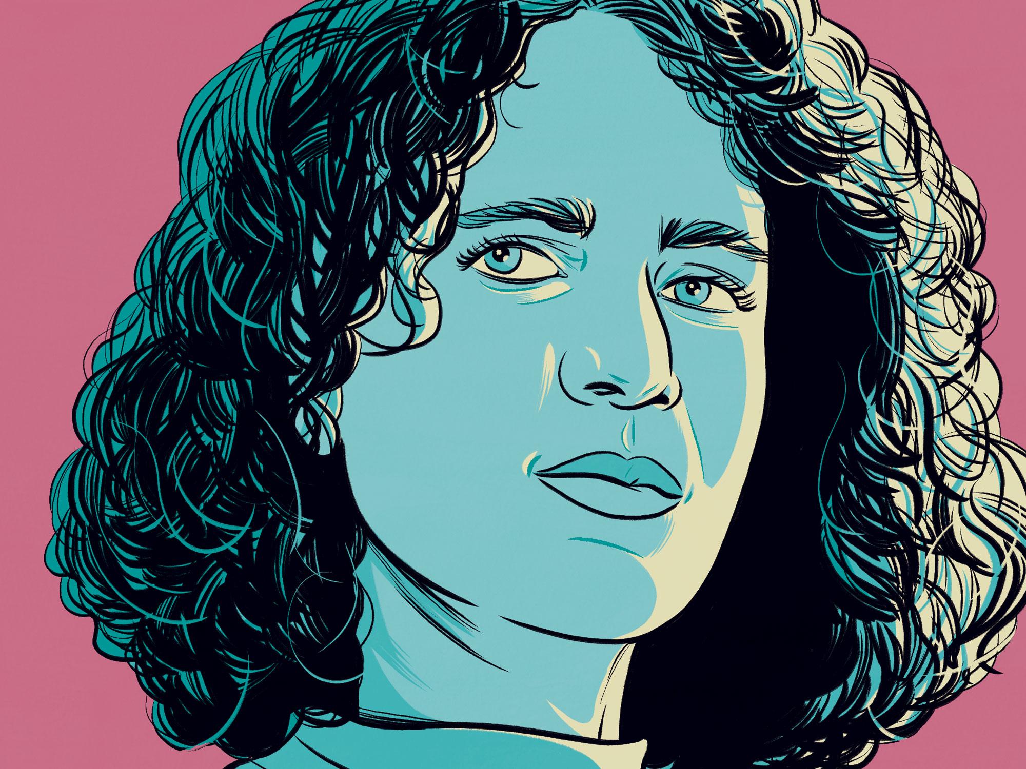 Mati Diop illustrated portrait