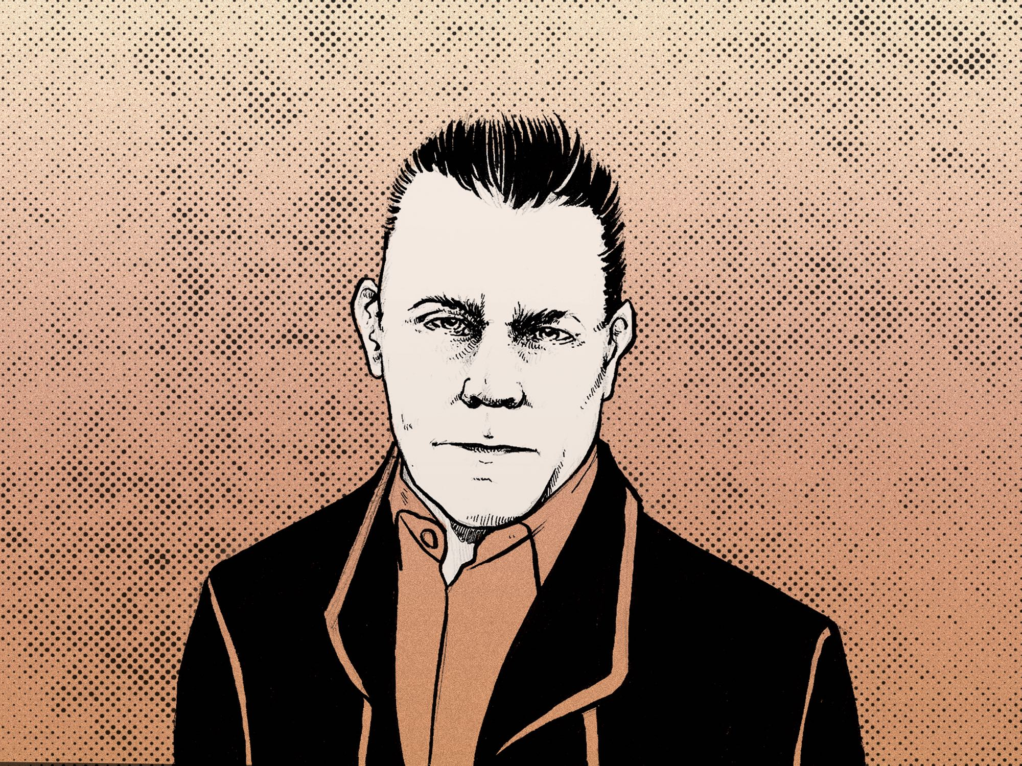 Ray Liotta illustrated portrait