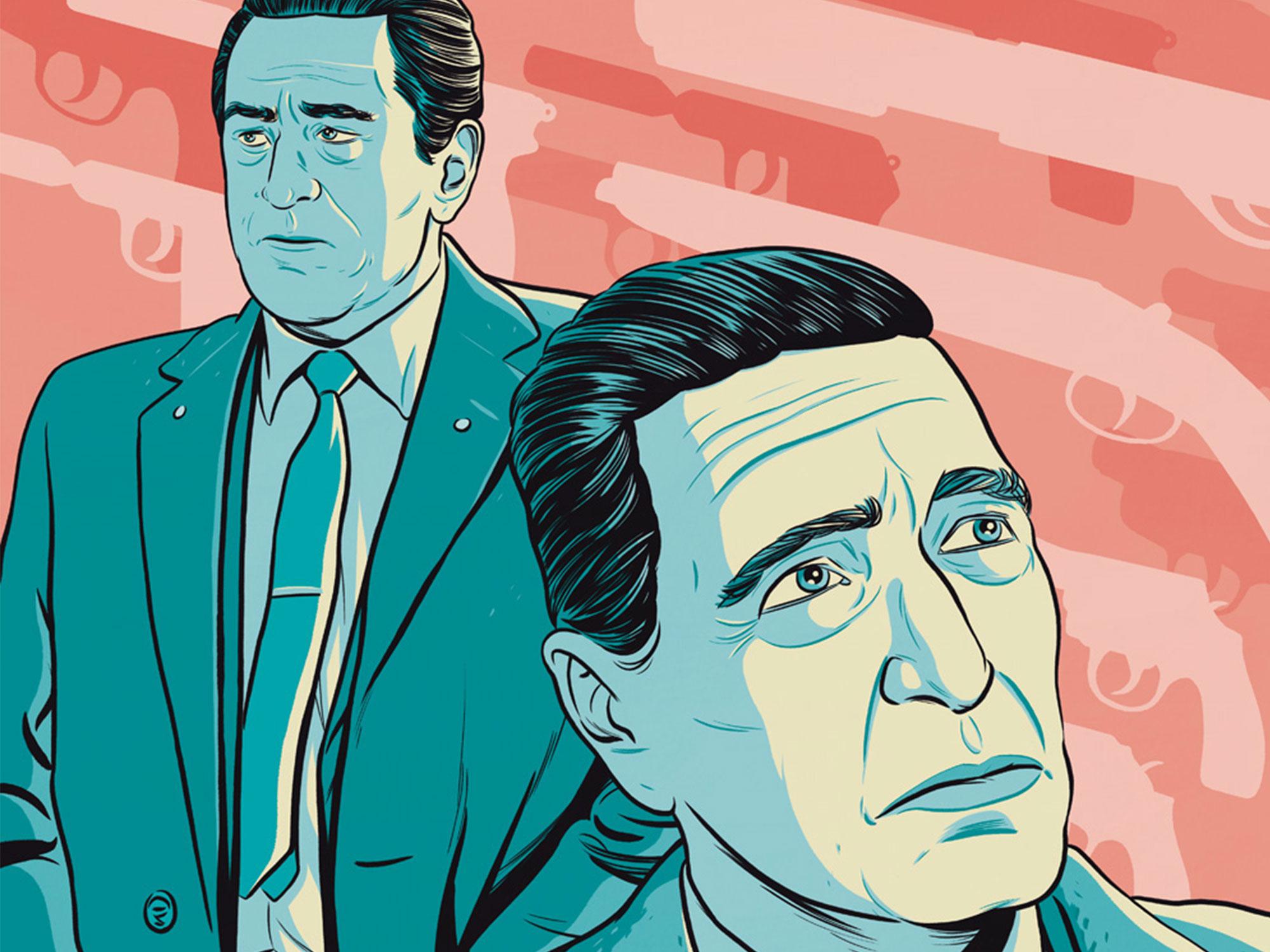 De Niro and Pacino on The Irishman and the gangsterization of US politics