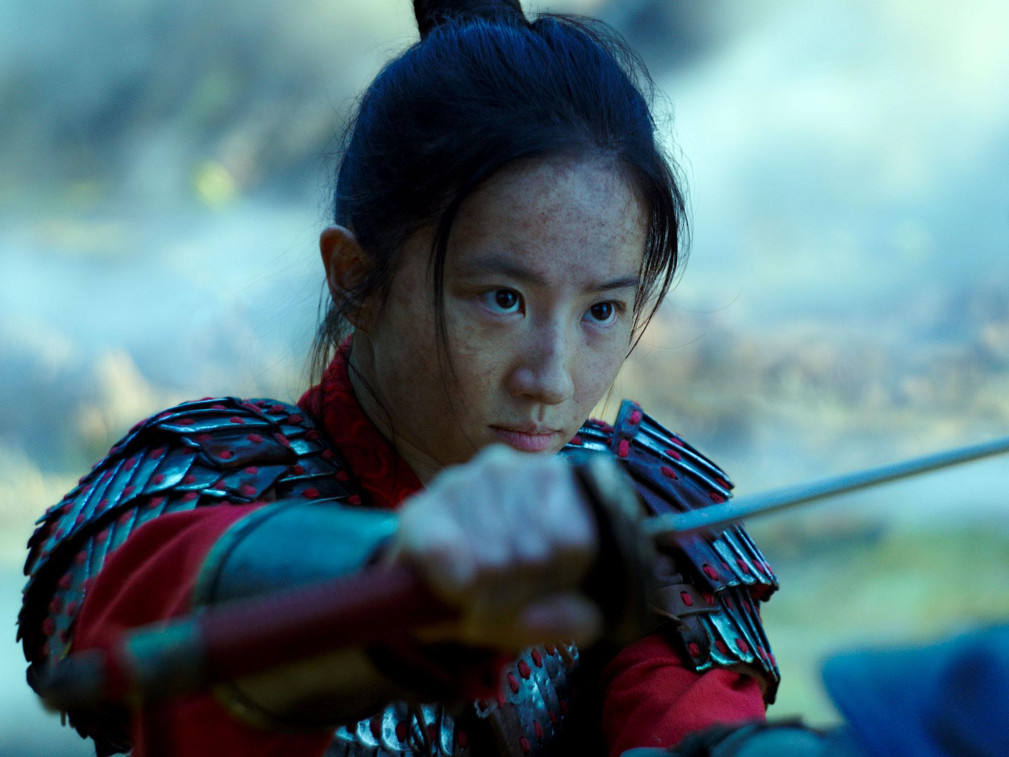 Yifei Liu in Disney's Mulan (2020)