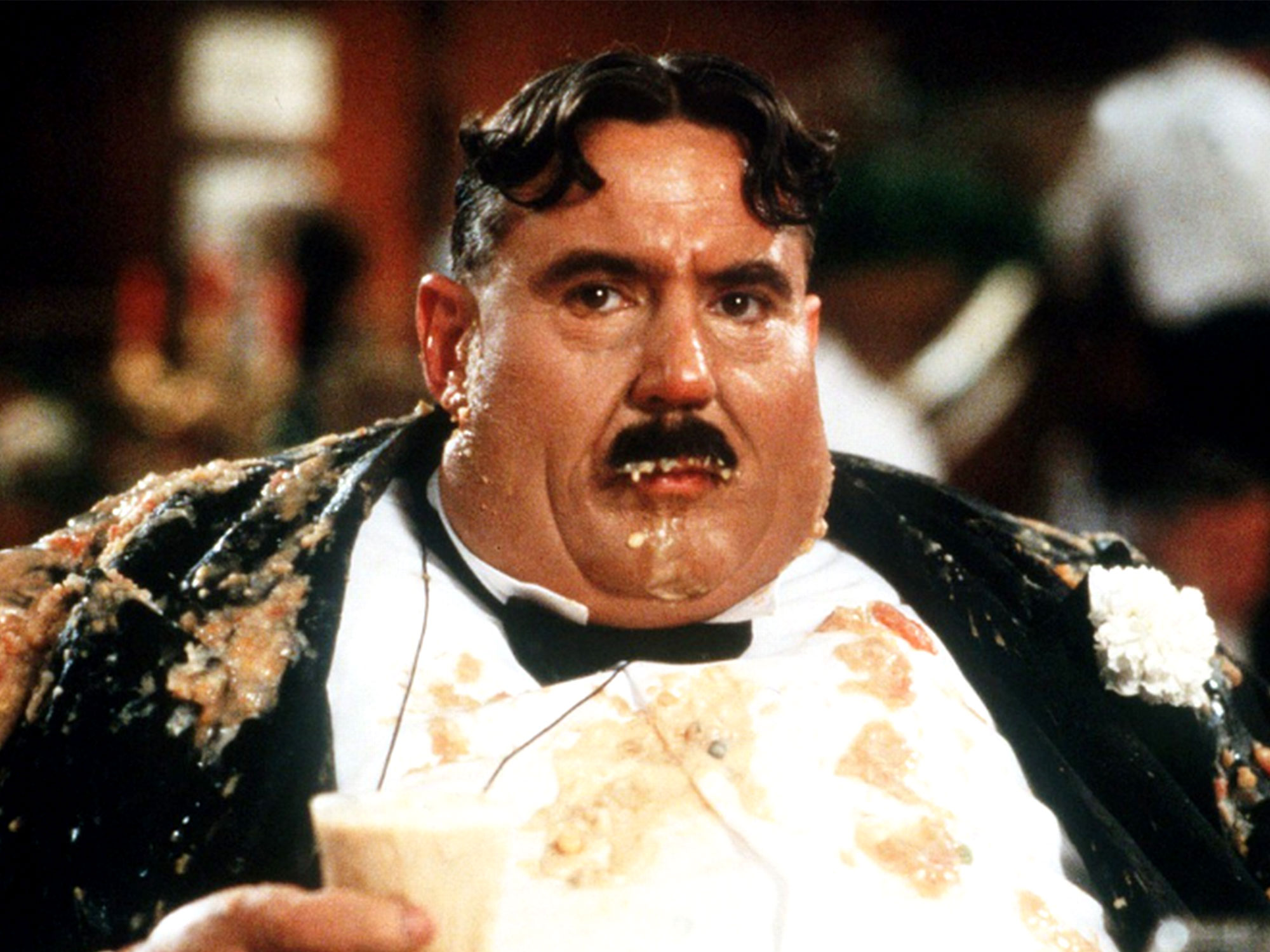 Terry Jones as Mr Creosote in Monty Python's The Meaning of Life