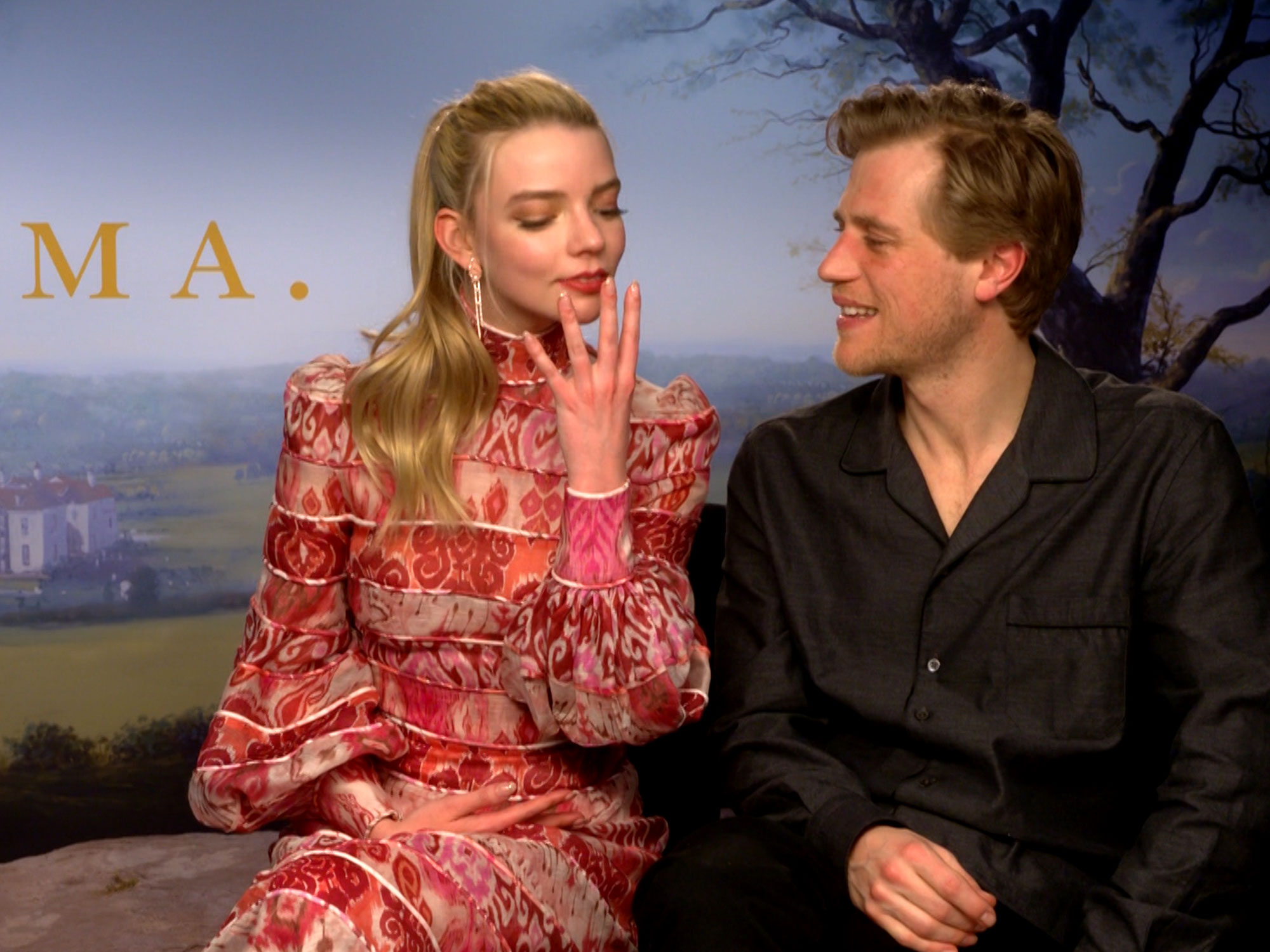 Emma stars Anya Taylor-Joy and Johnny Flynn