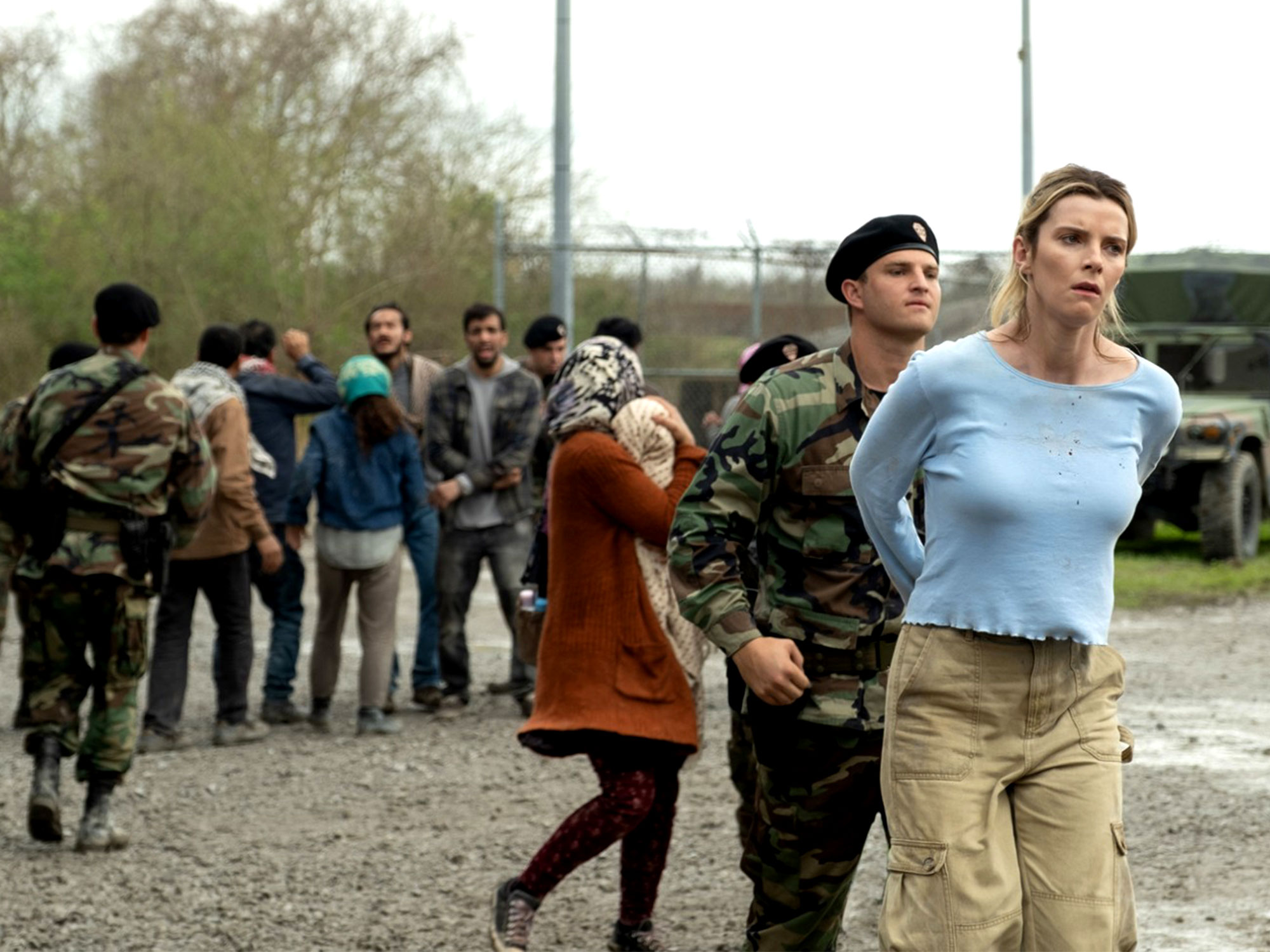 Betty Gilpin in The Hunt (2019)
