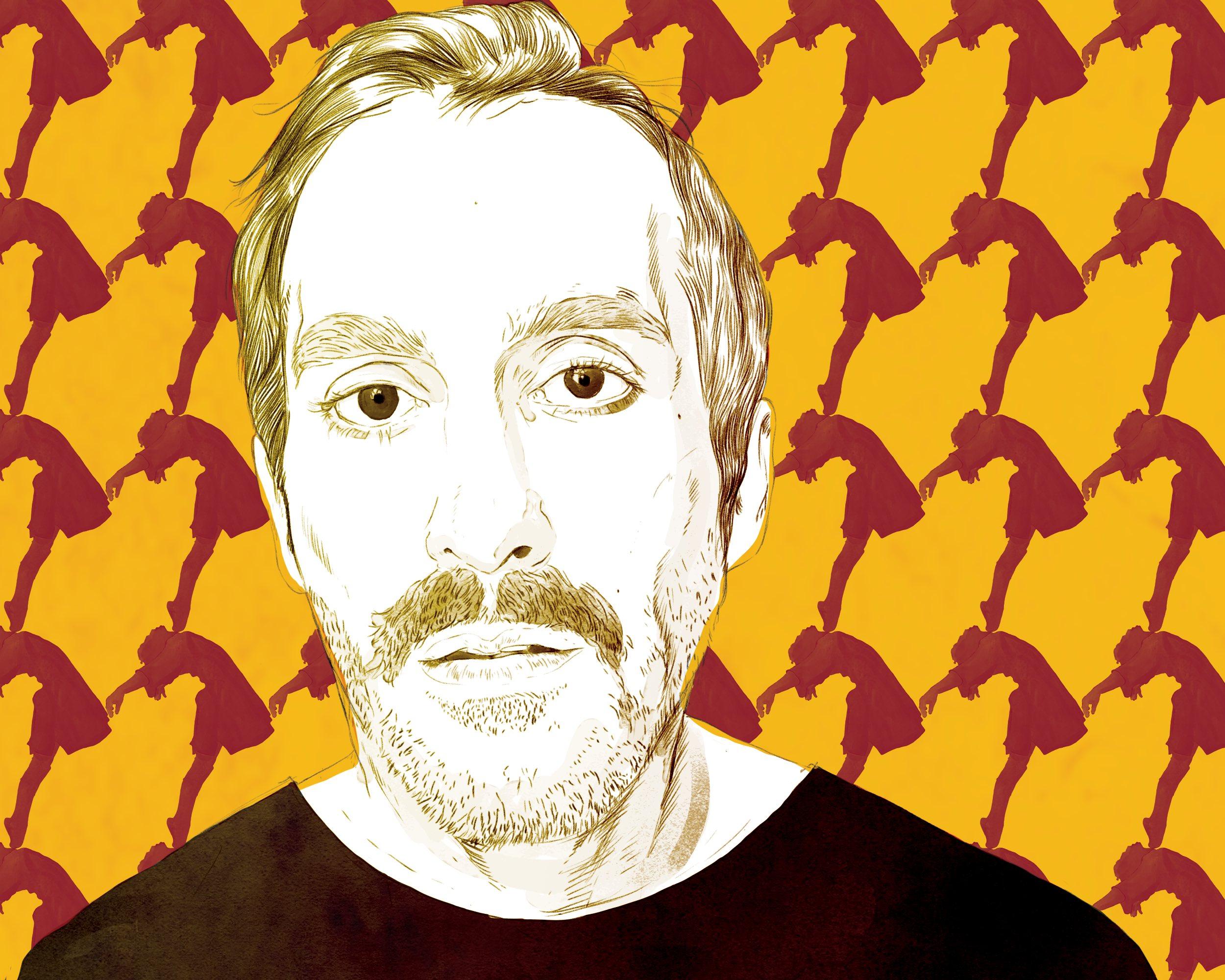 Levan Akin illustrated portrait