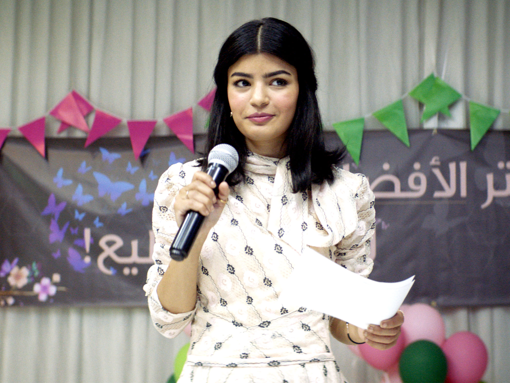 Nora Al Awadh in The Perfect Candidate (2019)