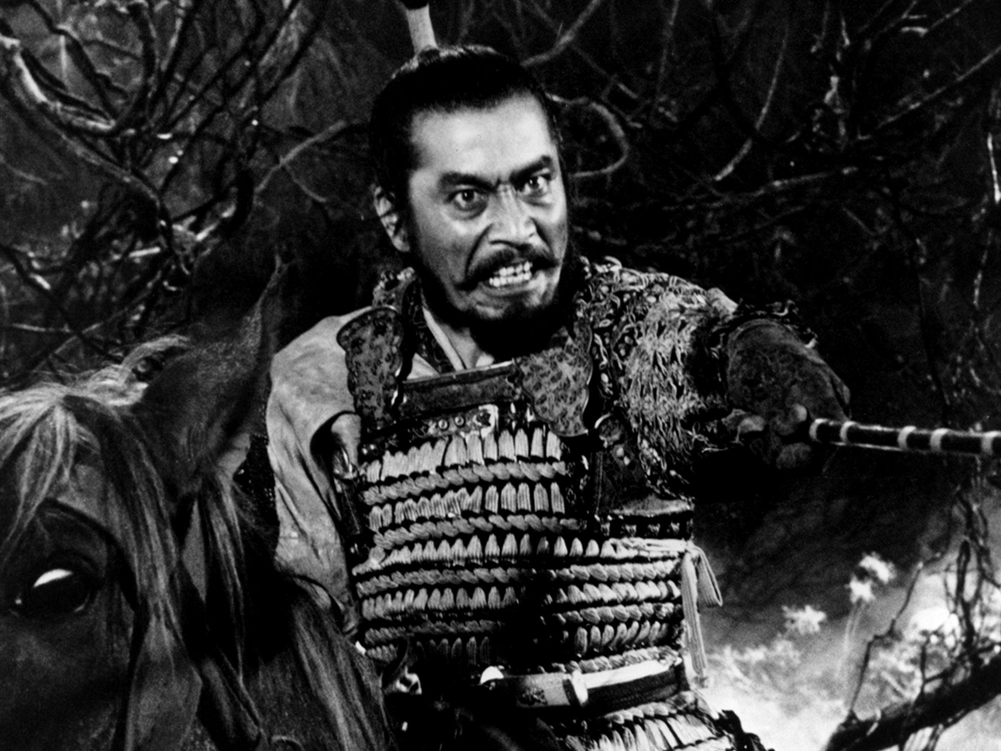 Toshiro Mifune in Throne of Blood (1957)