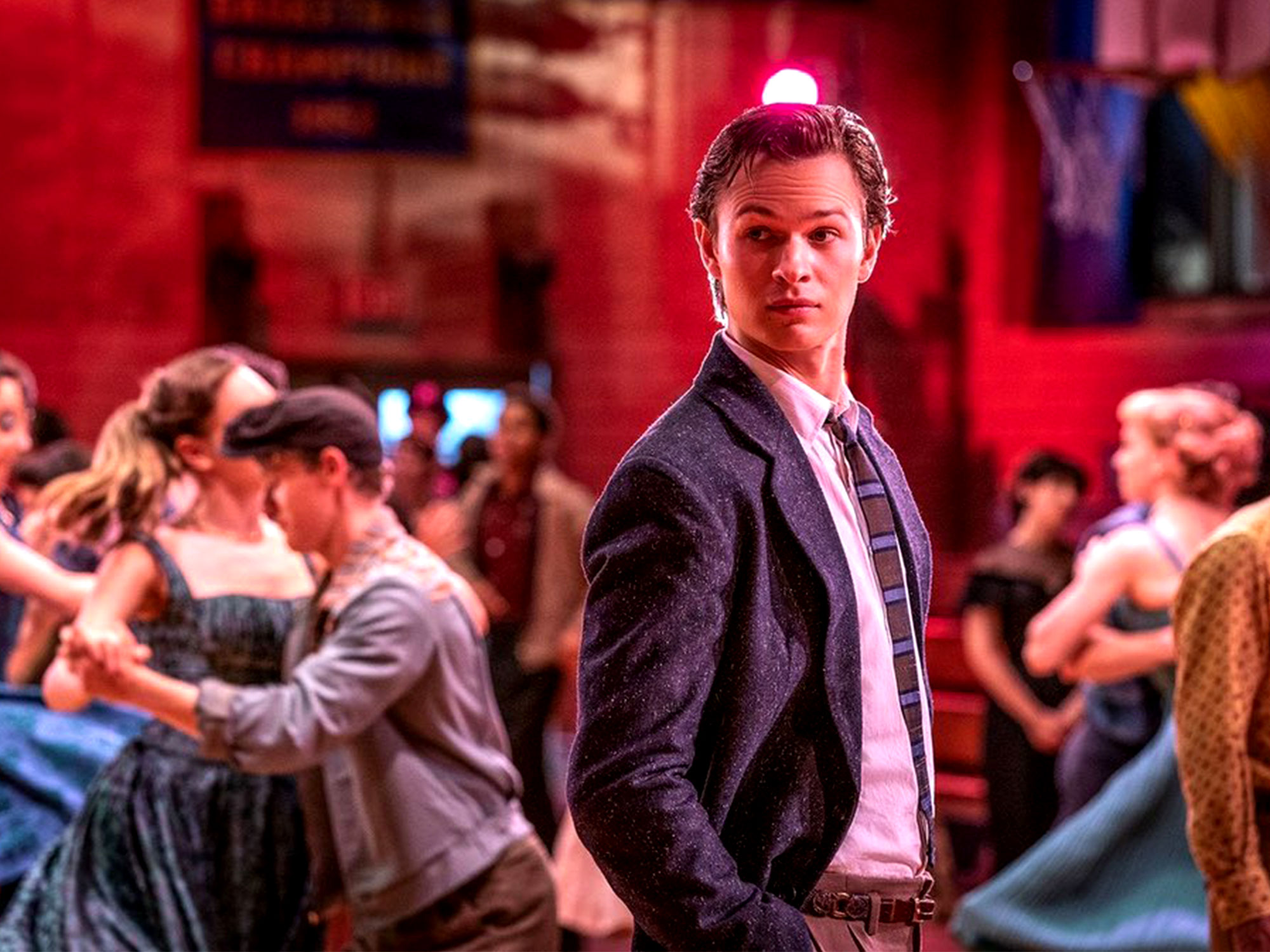 Ansel Elgort in West Side Story (2020)