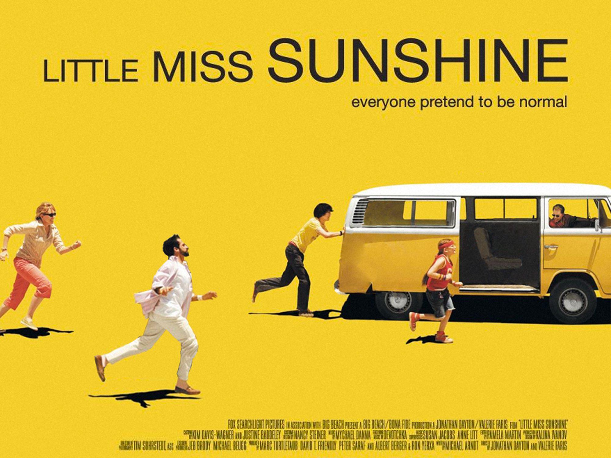 Little Miss Sunshine film poster social distancing