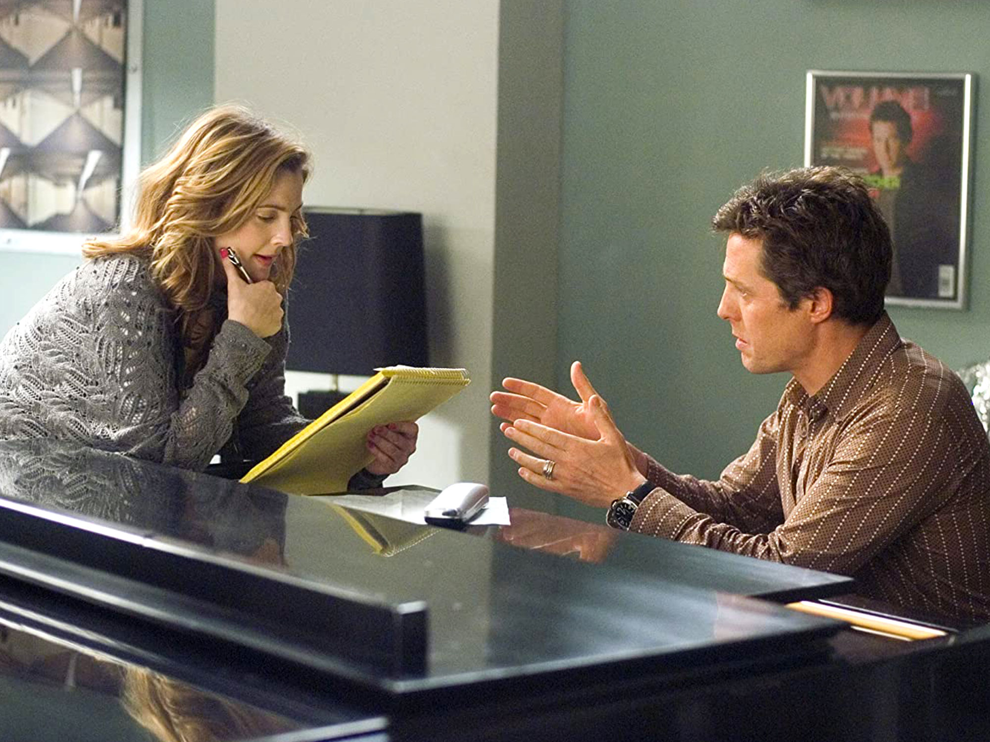 Hugh Grant and Drew Barrymore in Music and Lyrics (2007)
