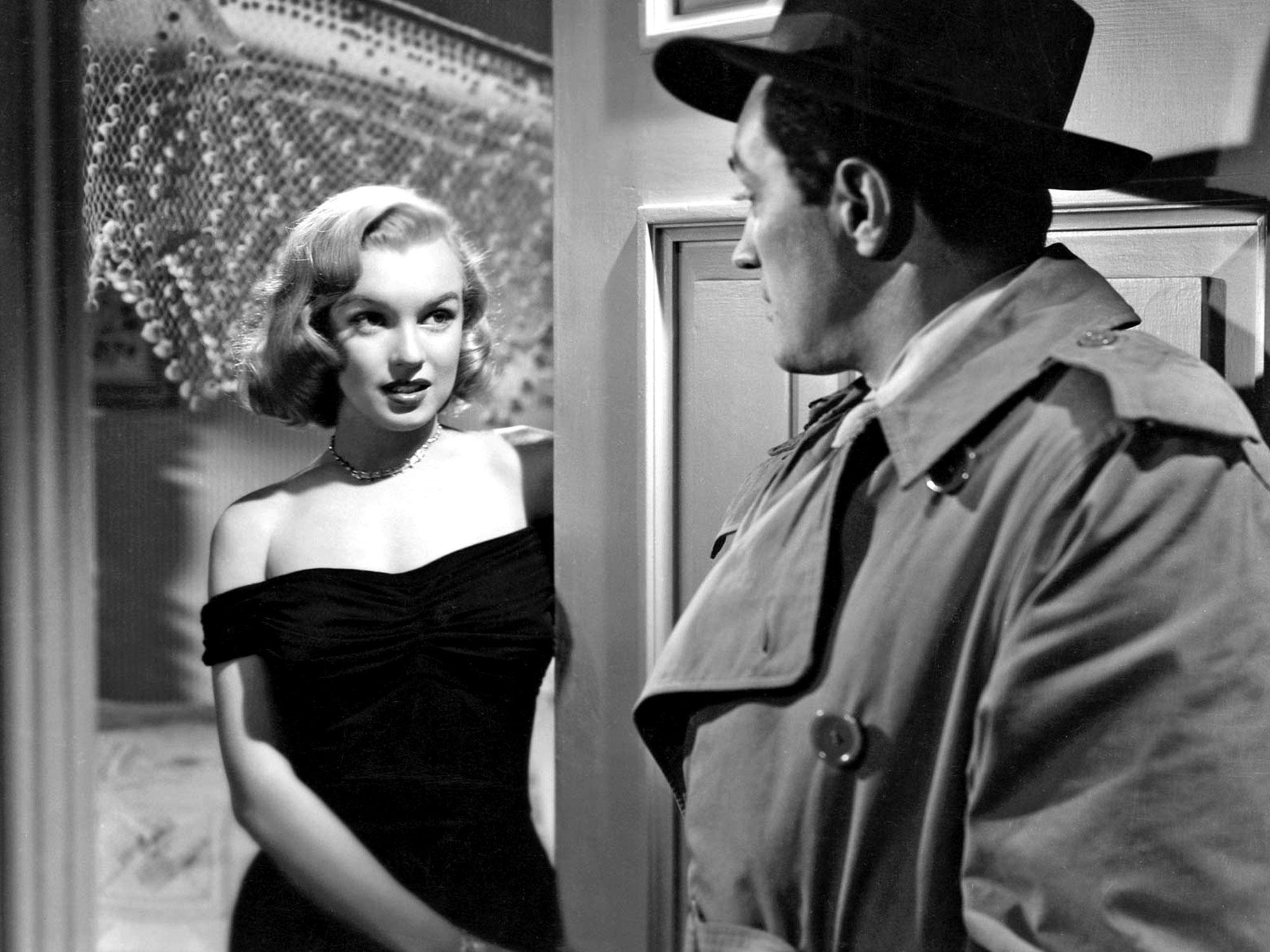 Marilyn Monroe in The Asphalt Jungle (1950)
