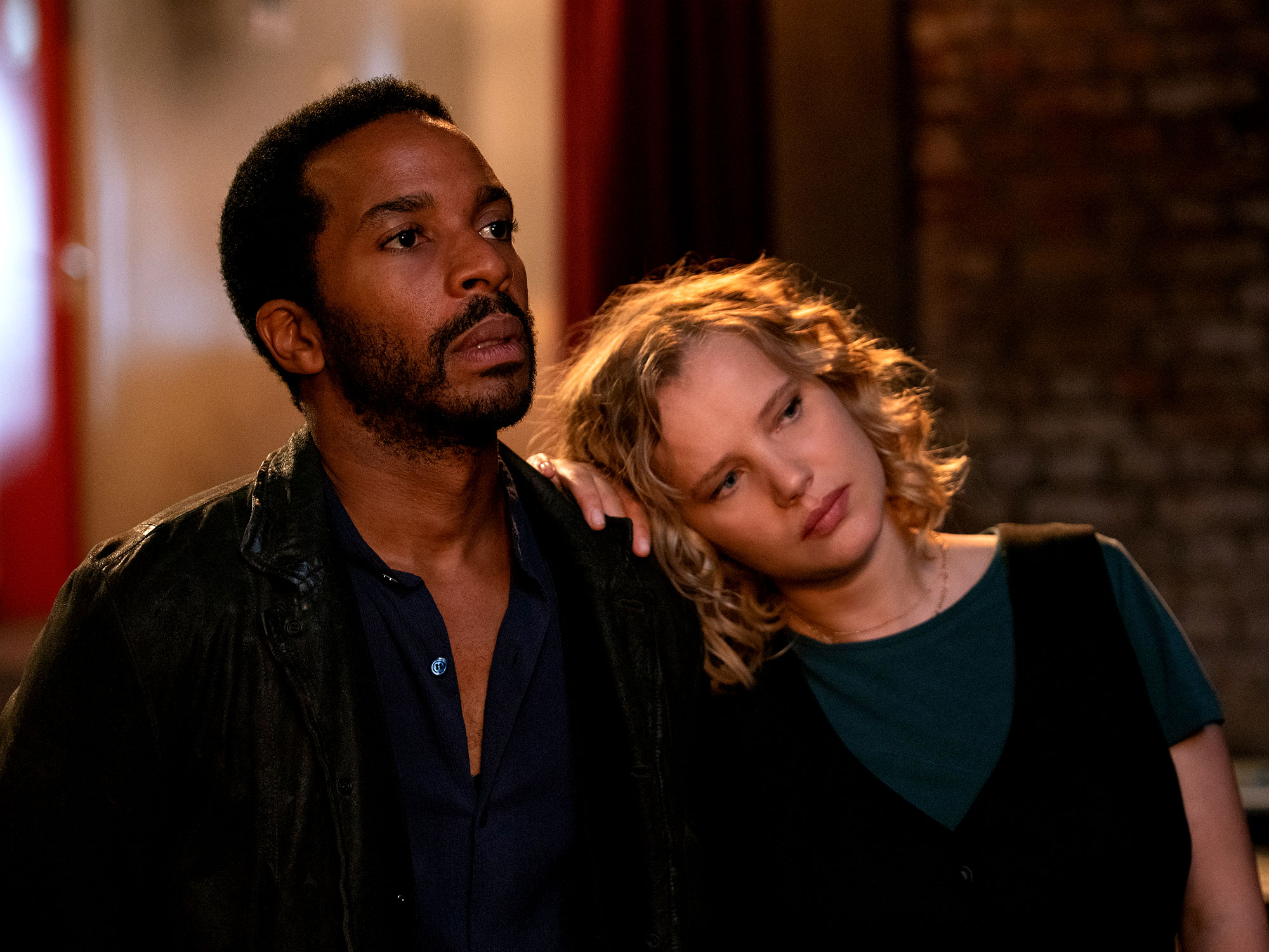 André Holland and Joanna Kulig in The Eddy (2020)
