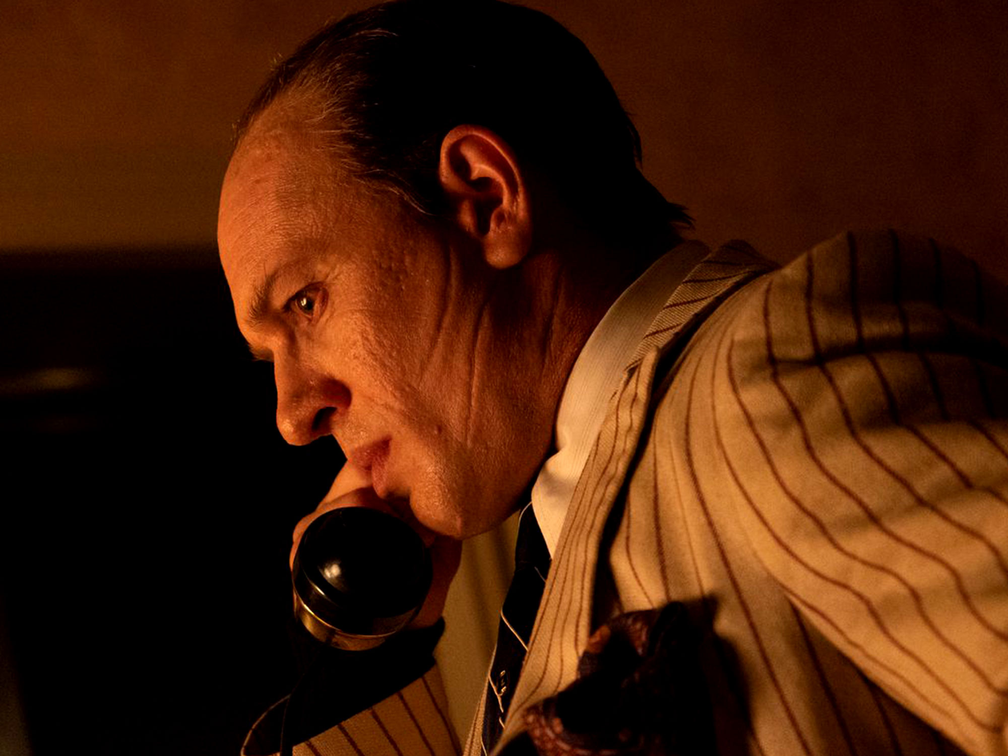 Tom Hardy in Capone (2020)