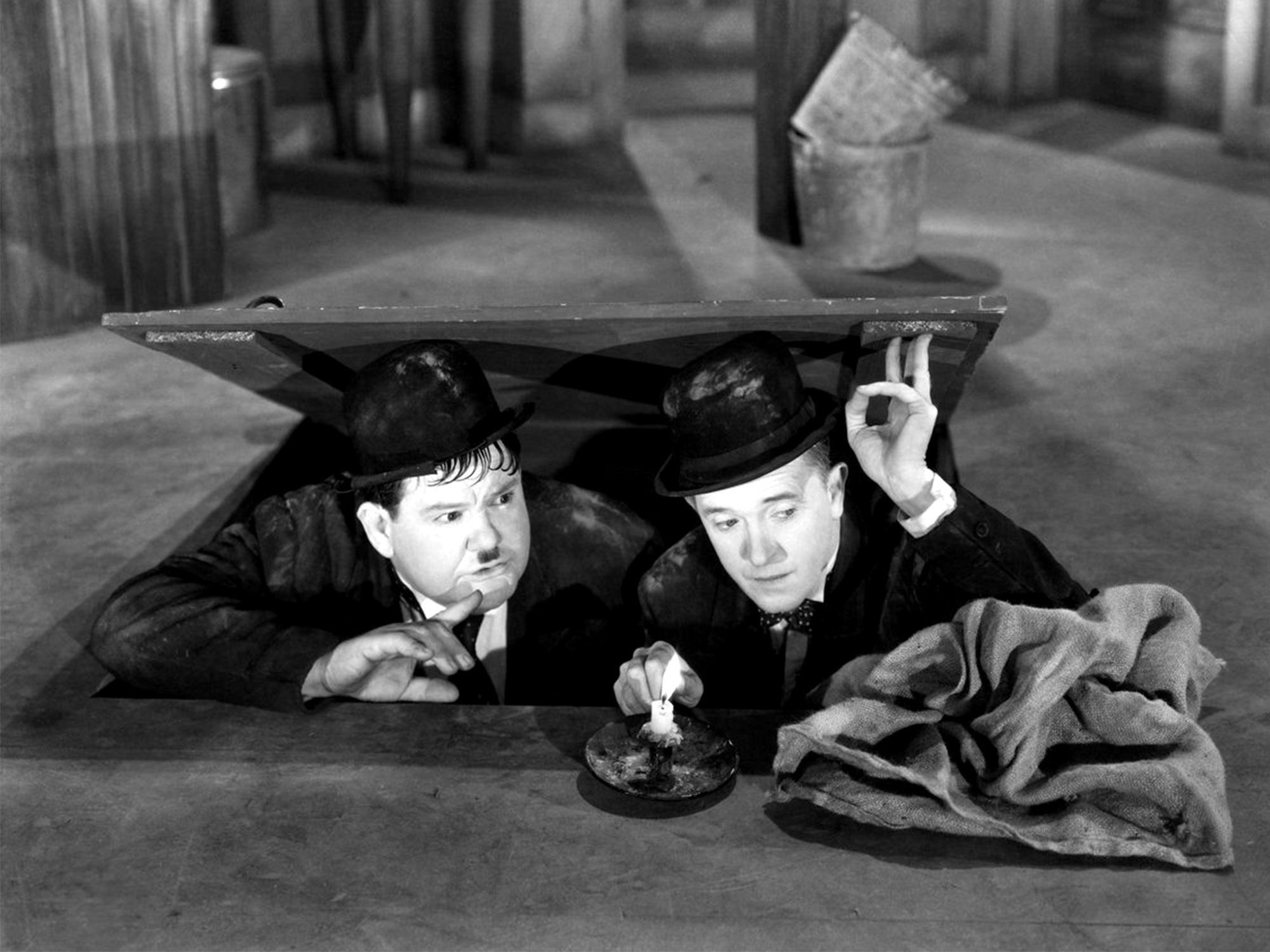 Laurel and Hardy in Way Out West (1937)