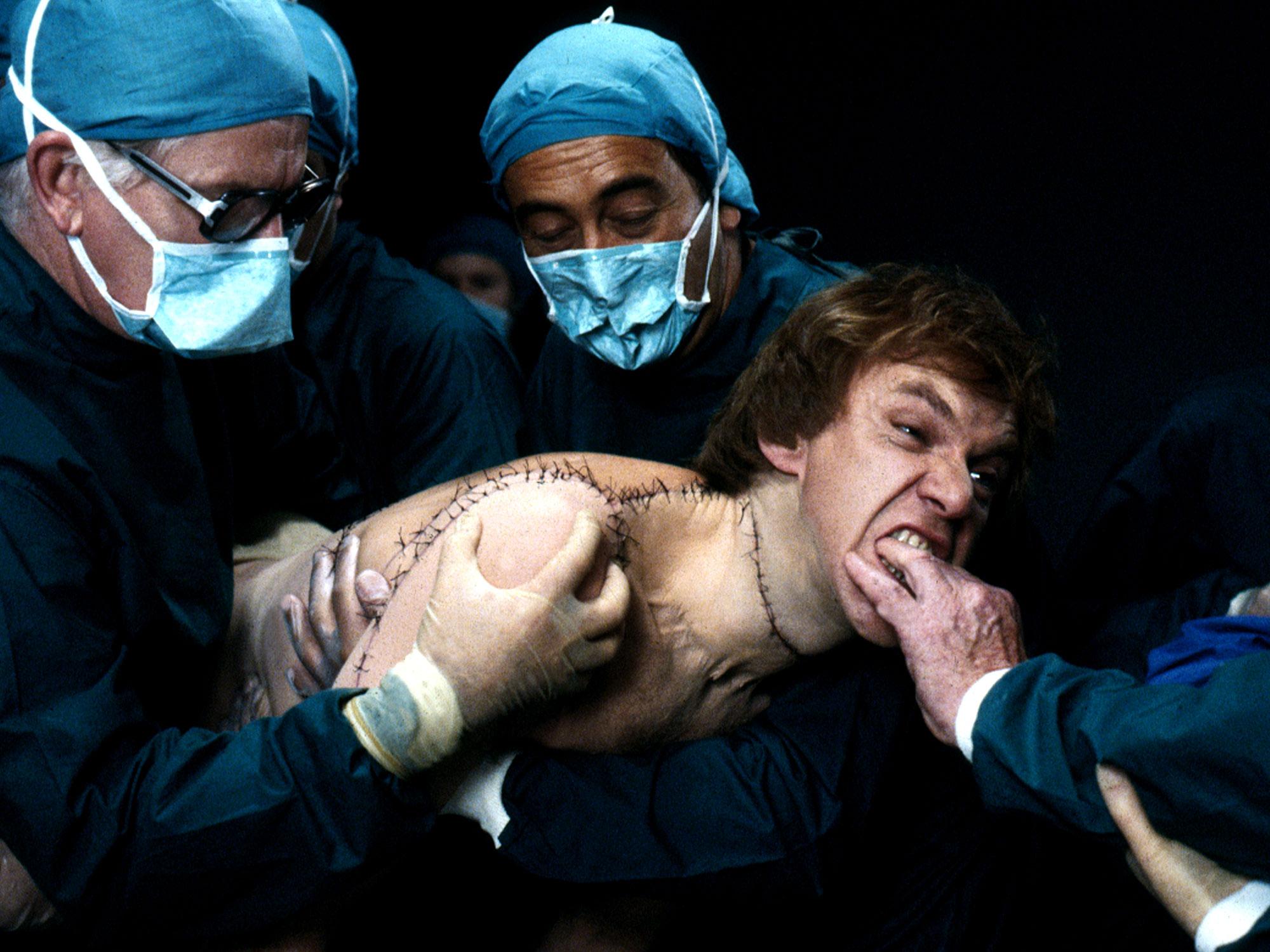 Britannia Hospital (1982) – Comedy, Sci-fi