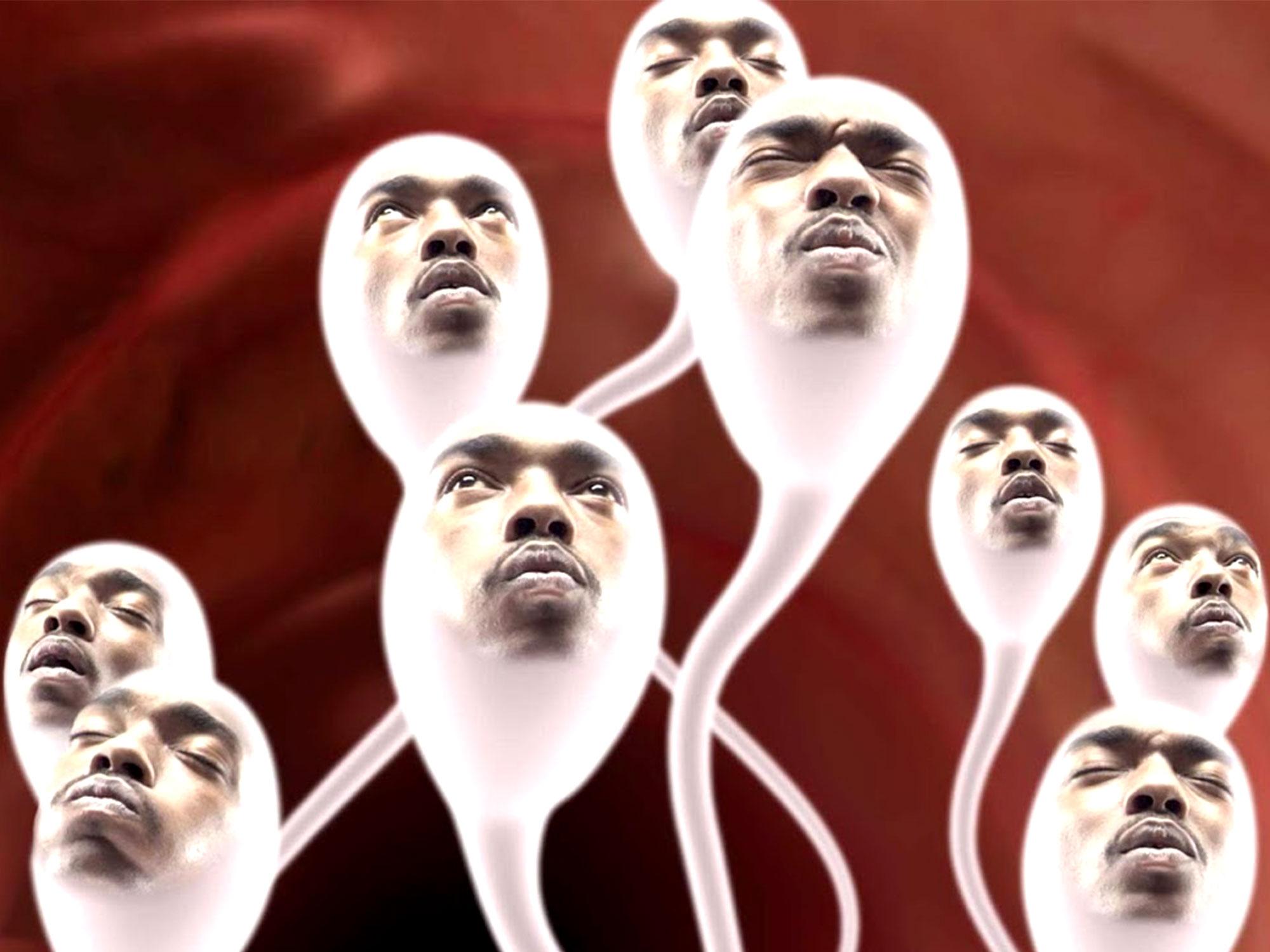 Sperm scene in Spike Lee's She Hate Me (2004)