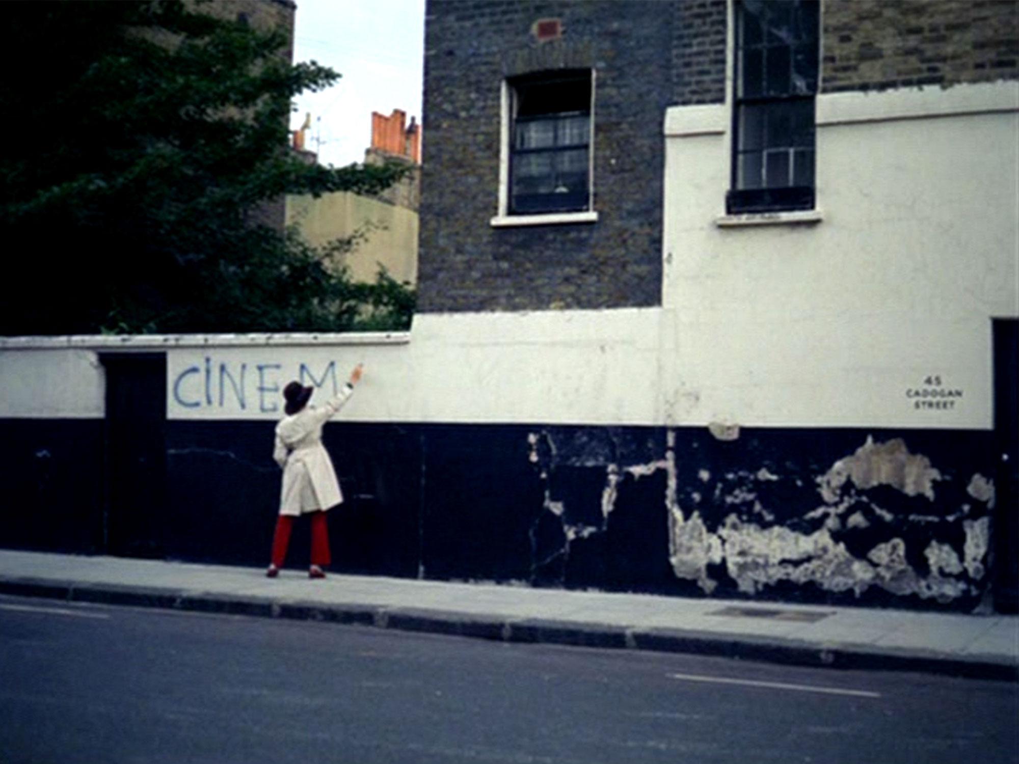 Sympathy for the Devil graffiti wall