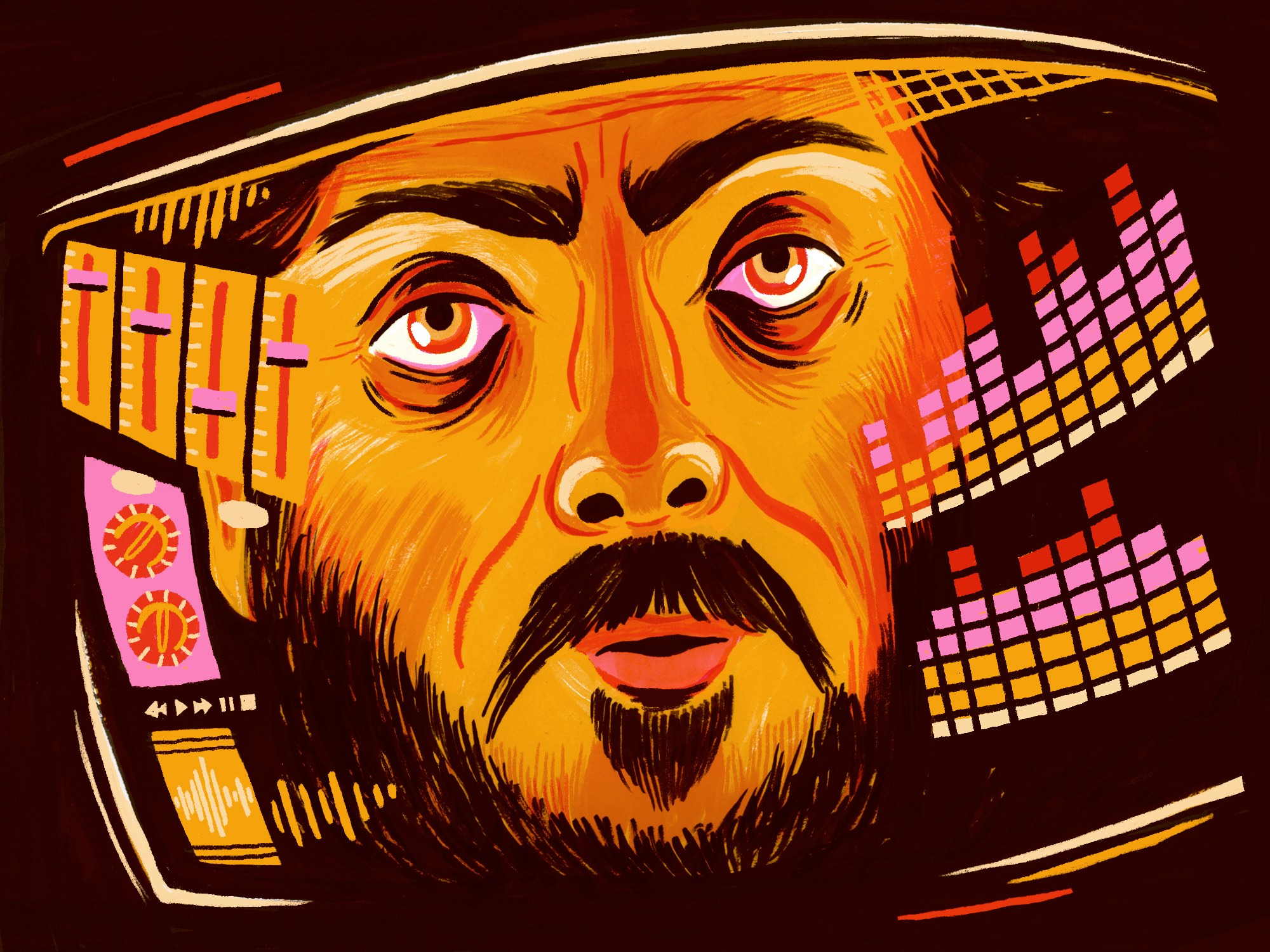 2001: A Space Odyssey illustration by Hayley Wells
