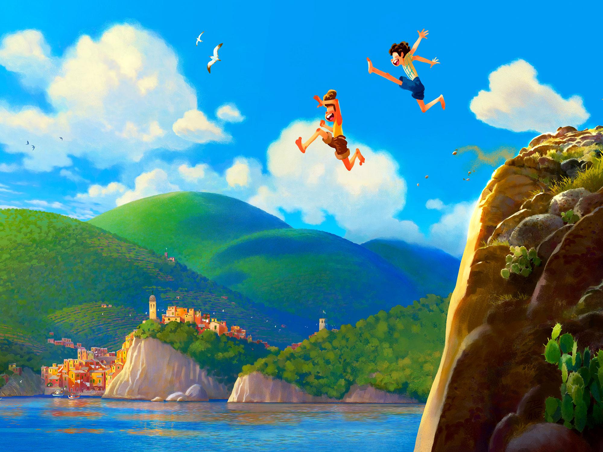 Pixar's Luca