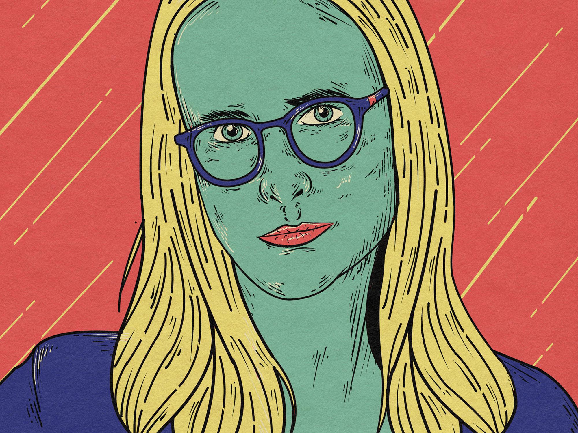 Claire Oakley illustration by Salvador Verano Calderón