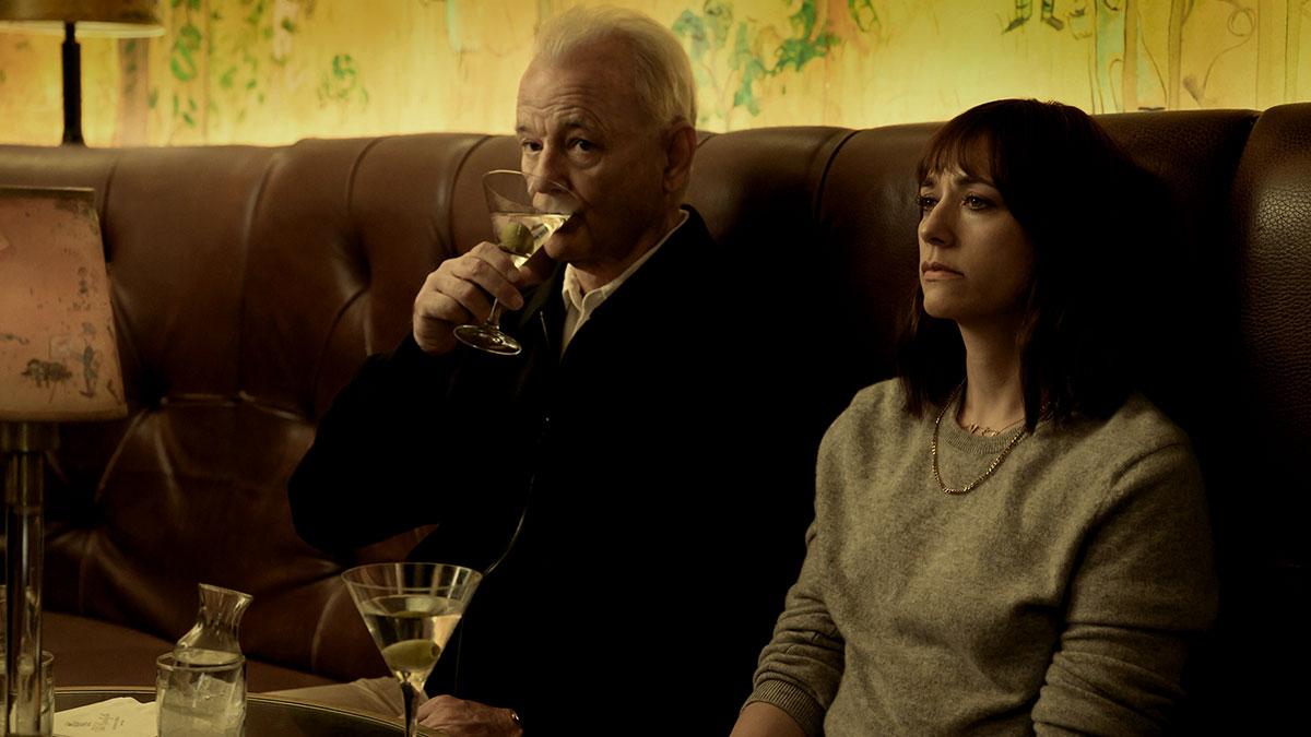 Rashida Jones and Bill Murray drink Martinis in the On the Rocks trailer