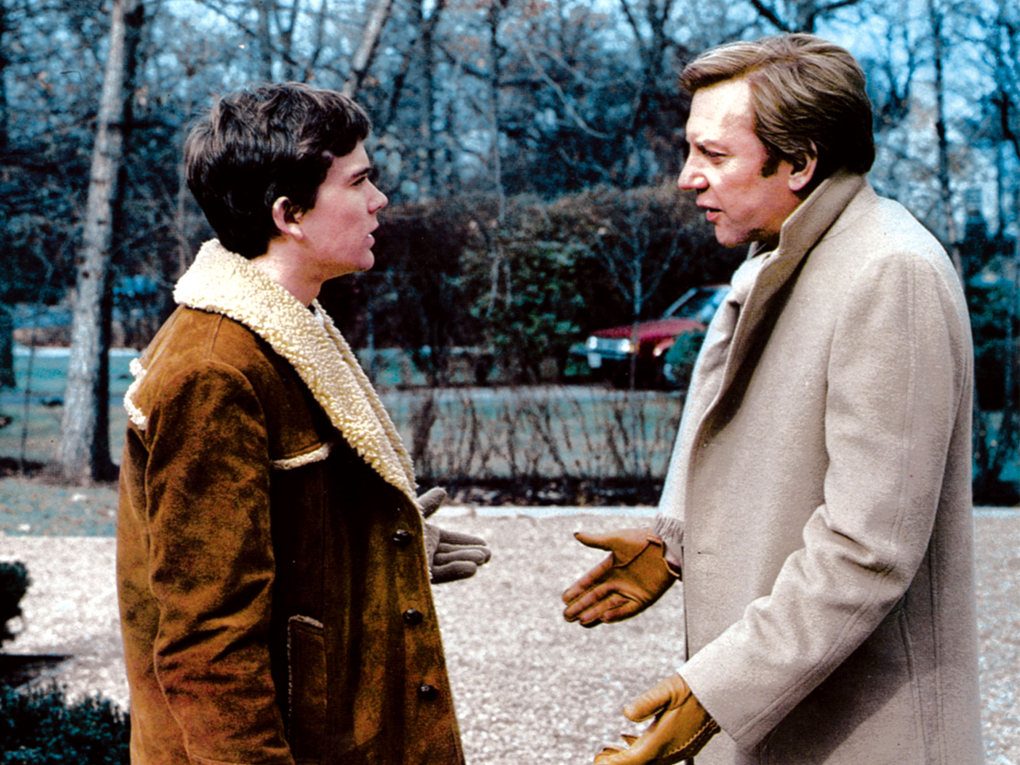 Timothy Hutton and Donald Sutherland in Ordinary People (1980)