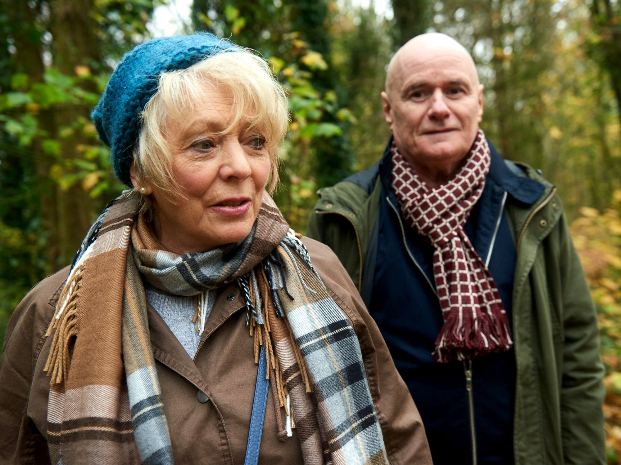 Alison Steadman and Dave Johns in 23 Walks (2020)