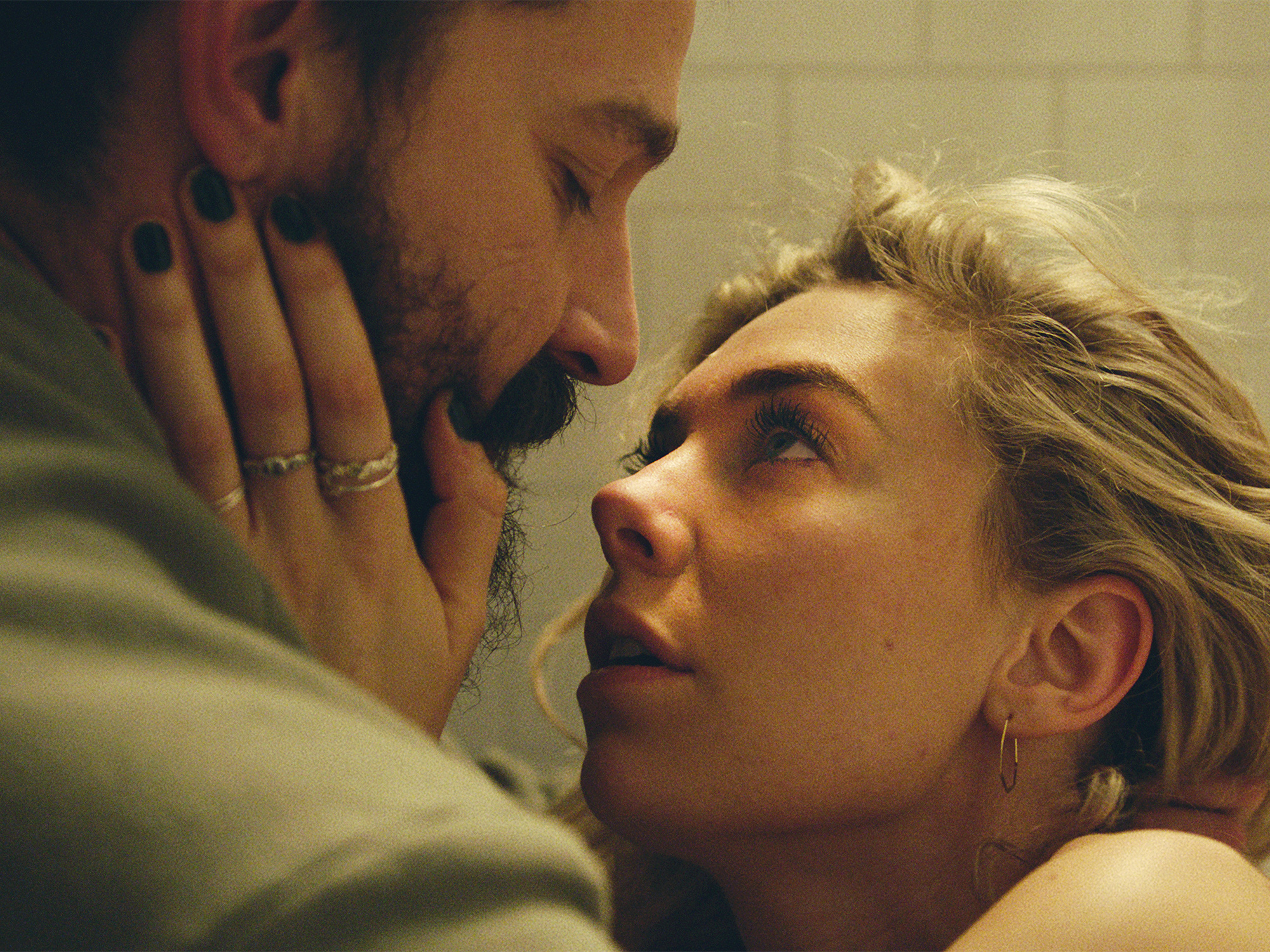 A still of Shia Labeouf and Vanessa Kirby in Pieces of a Woman