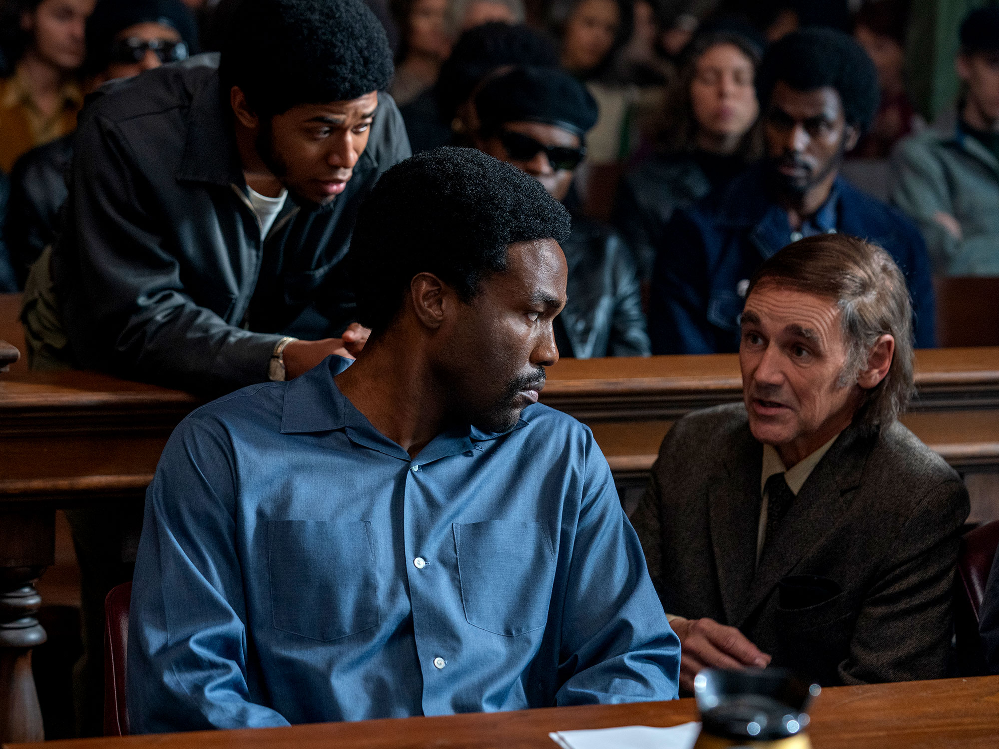Yahya Abdul-Mateen II in The Trial of the Chicago 7 (2020)