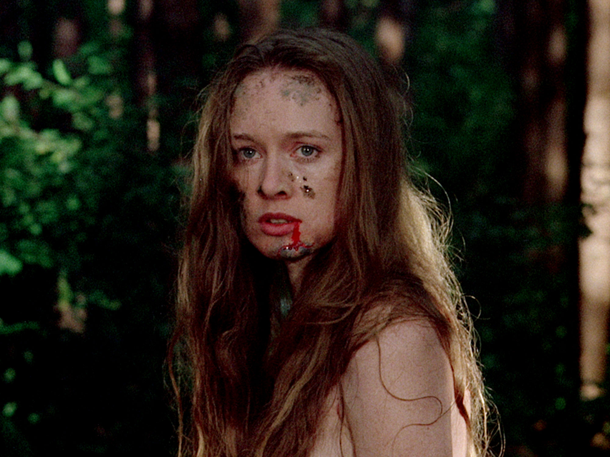Camille Keaton in I Spit on Your Grave (1978)