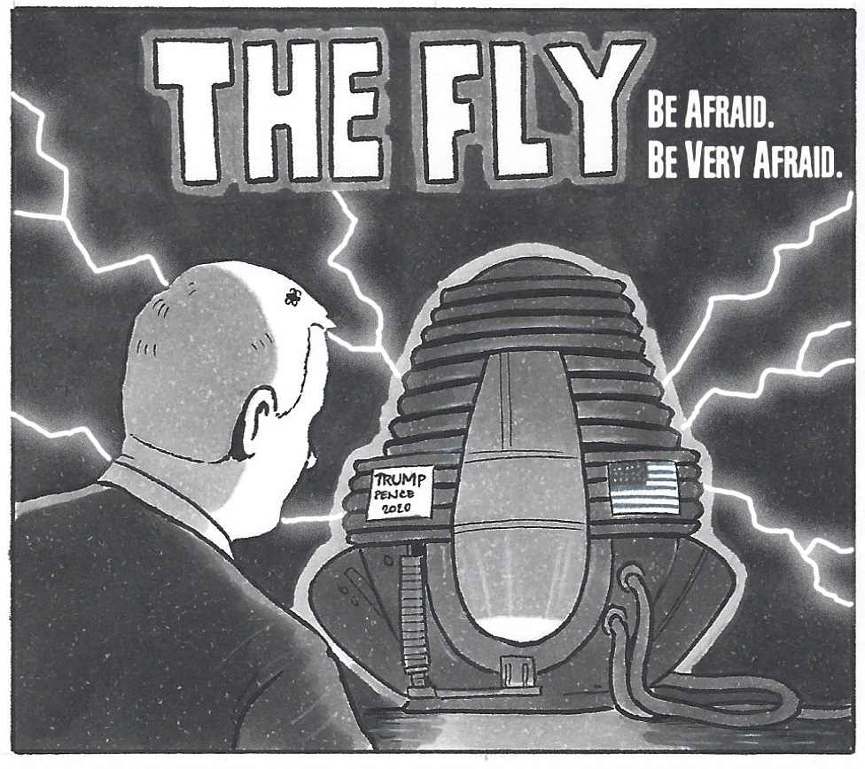David Squires on… Mike Pence in The Fly