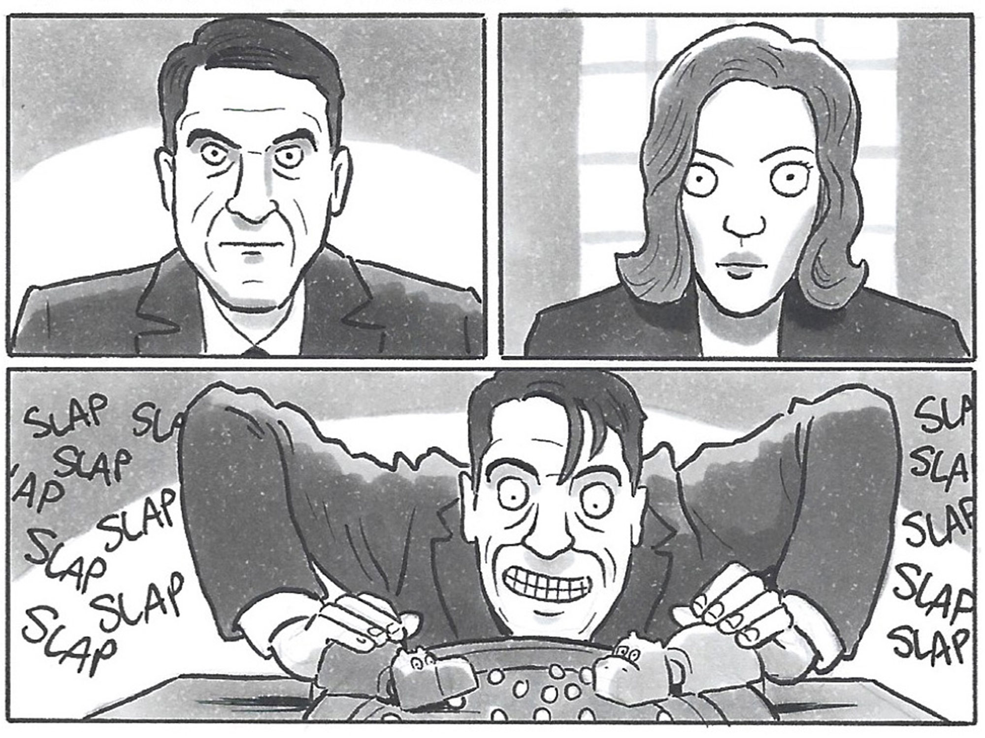 David Squires on... The Queen's Gambit: Hungry Hungry Hippos edition