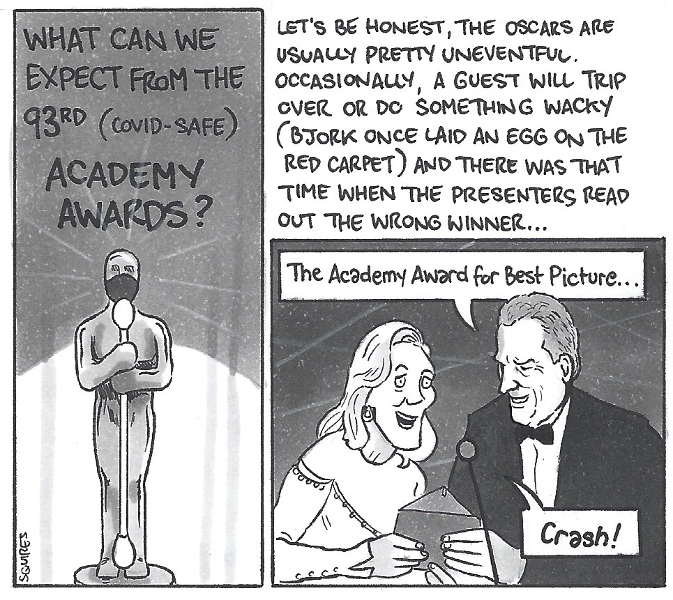 David Squires on…. What to expect at the 93rd Academy Awards