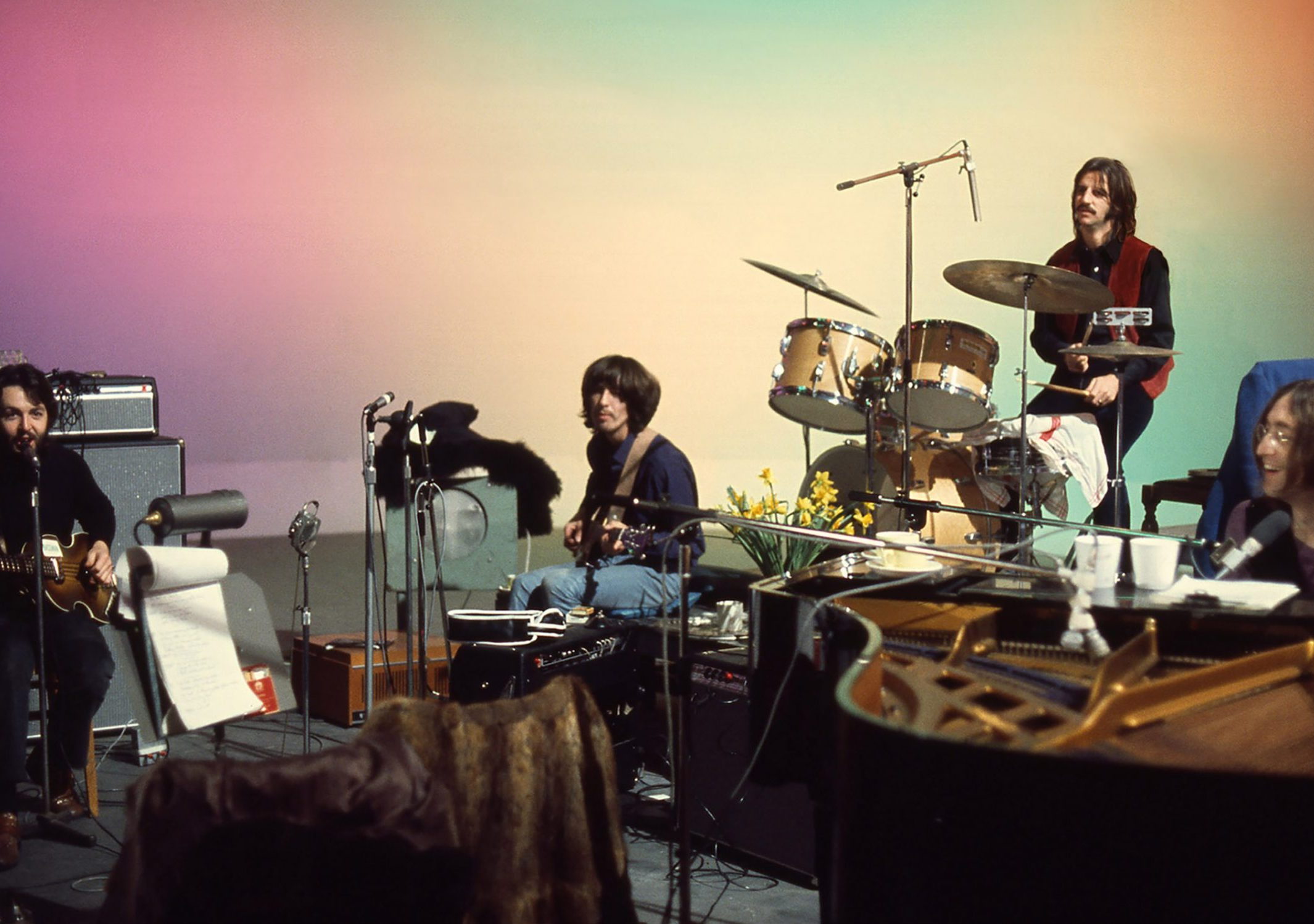 The Beatles make one last record in the Get Back documentary trailer